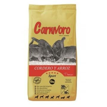 PIENSO CARNIVORO SPORT 15 KG
